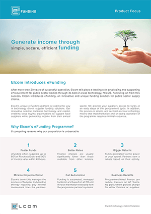 eFunding Fact Sheet