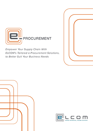 eProcurement Fact Sheet